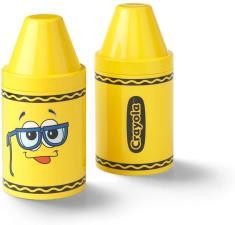 Crayola Portapenne e porta oggetti colorato per bambini Giallo