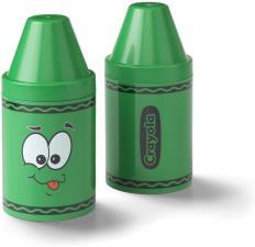 Crayola Portapenne e porta oggetti colorato per bambini Verde