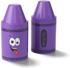 Crayola Portapenne e porta oggetti colorato per bambini Viola