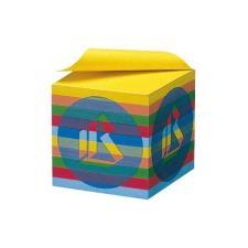 Cubo per appunti color arcobaleno 9x9x9 cm Buffetti