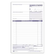 Documento di trasporto Blocco 3cp 21-5x14-8 cm