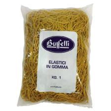 Elastici in gomma Misura ø 50 x 1,4 mm conf 1000 g Buffetti