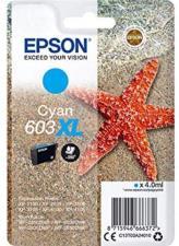 Epson 603 Serie Stella Marina, Cartuccia originale getto d'inchiostro, Formato XL, Ciano