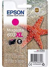 Epson 603 Serie Stella Marina, Cartuccia originale getto d'inchiostro, Formato XL,Magenta