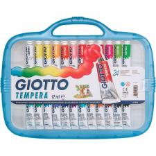 Giotto valigetta con 24 tubetti 12ml tempera extrafine + 1 pennello
