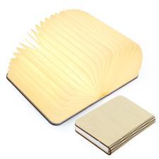 Lampada Libro USB Ricaricabile in legno