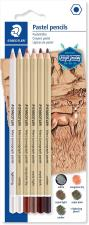 Mars lumograph pastello Design Journey – Blister 6 pastelli assortiti