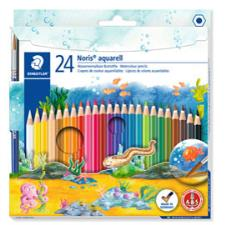 MATITA AQUARELLABILE ASTUCCIO 24 NORIS CLUB STAEDTLER