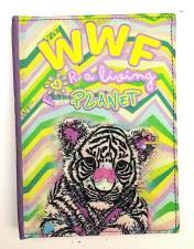 Panini Diario scolastico in tessuto 12 mesi WWF Tigre Multicolore