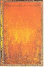 Paperblanks Agenda Flexi a Copertina Morbida Verticale 18 Mesi Settimanale 2020-2021 Ruggine di Argilla Arancione