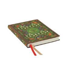 Paperblanks Agenda Flexi Midi 2019-2020 Poesia in Fiore 18 mesi interno Orizzontale Verde
