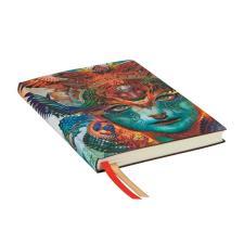 Paperblanks Agenda Maxi 2019-2020 Drago Dharmico 18 mesi interno Verticale Multicolore