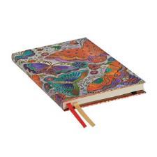 Paperblanks Agenda Maxi 2019-2020 Farfalle 18 mesi interno Verticale Multicolore