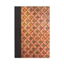 Paperblanks Agenda Mini 18 mesi orizzontale settimanale 2022 chiusura con fascia elastica  Le Onde (Volume 3) Arancione