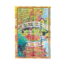 Paperblanks Agenda Mini Settimanale Orizzontale 12 mesi 2020 con chiusura Magnetica Multicolore