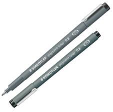 Pennarello Pigment Liner 308 nero 0,8mm Staedtler