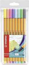 Pennarello Premium  STABILO Pen 68 Astuccio da 8 Colori Pastello