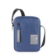 Piquadro Borsello con tracolla organizzato porta iPad®mini Explorer Blu
