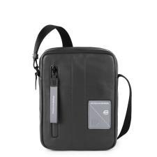 Piquadro Borsello con tracolla organizzato porta iPad®mini Explorer Nero