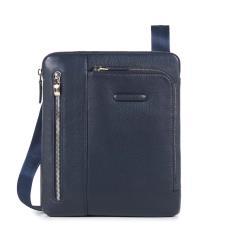 Piquadro Borsello Modus porta iPad®, doppia tasca frontale Blu