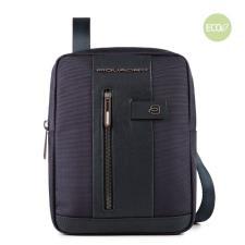 Piquadro Borsello porta iPad® in tessuto riciclato Brief 2 Blu