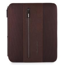 Piquadro Portablocco Brief con scomparto porta iPad® e porta penne Testa di Moro