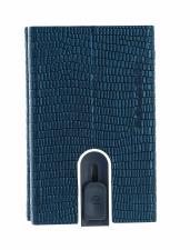 PIQUADRO Sophia Compact Wallet Slider RFID Ottanio Lizard-Metal