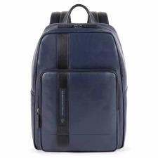 Piquadro Zaino porta computer e porta iPad® con protezione Febo Blu