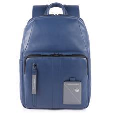 Piquadro Zaino porta computer e porta iPad® con tasca porta Explorer Blu