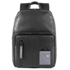 Piquadro Zaino porta computer e porta iPad® con tasca porta Explorer Nero