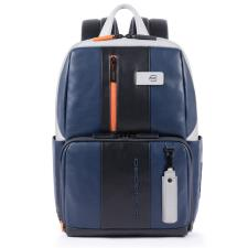 Piquadro Zaino Urban Porta Pc e Porta Ipad personalizzabile Blu e Grigio