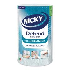Rotolo carta casa NICKY DEFEND con antibatterico - 3 veli - 80 strappi