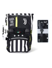 Seven Zaino Juventus F.C. Schoolpack con Astuccio e Gadget