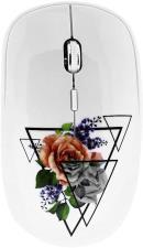 T-NB Mouse ottico Wireless USB 2.4 Ghz Romantic